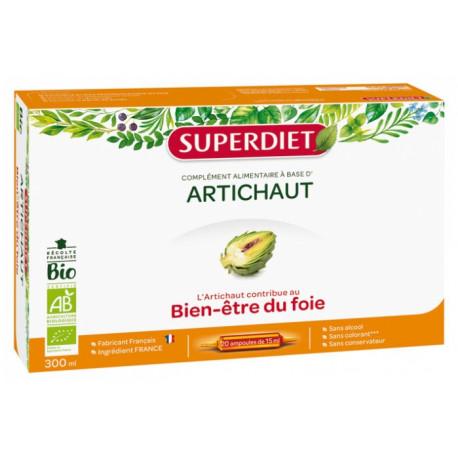 Super Diet Artichaut Bio 20 Ampoules