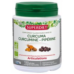 SUPERDIET CURCUMA PIPERINE BT 120
