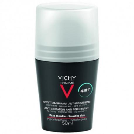Vichy homme déodorant peaux sensibles 50ml