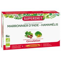 Super Diet Marronnier d'Inde Hamamélis Bio 20 Ampoules