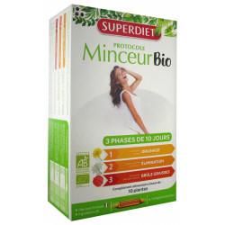 Super Diet Protocole Minceur Bio 30 Ampoules