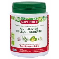 Super Diet Quatuor Ail Cardio-vasculaire Bio 150 Gélules