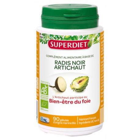 Super Diet Radis Noir Artichaut Bio 90 gélules