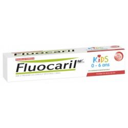 FLUOCARIL KIDS DENT FRAISE 0-6 50ML