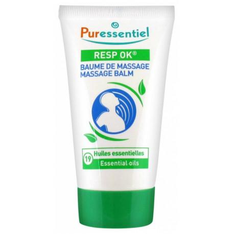 Puressentiel Resp OK Baume de Massage aux 19 Huiles Essentielles 50 ml