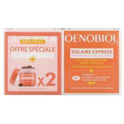 Oenobiol Solaire Express 2 x15 capsules