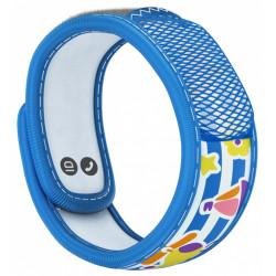 Parakito Kids Bracelet Anti-Moustiques Bleu Bateau