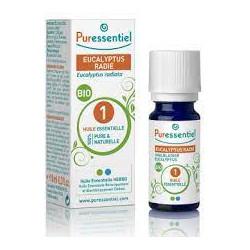 Puressentiel Eucalyptus radié BIO huile essentielle 10ml