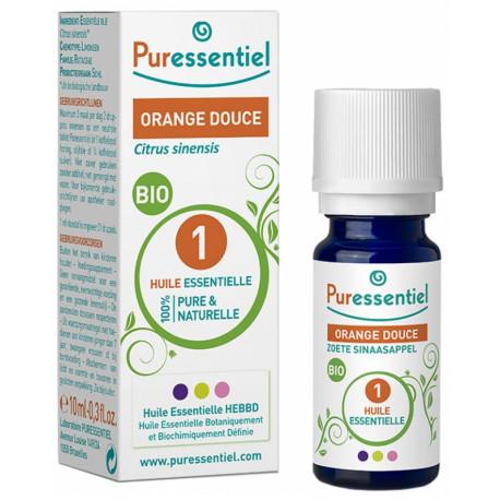 Puressentiel Huile Essentielle Orange Douce Bio 10 ml