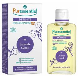 Puressentiel Détente : Huile de Massage Bio 100 ml