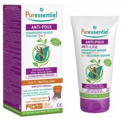 Puressentiel Anti-Poux Shampoing Masque Traitant 2 en 1 150 ml