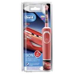 Oral-B Kids Brosse à Dents Electrique Rechargeable 3 Ans et + - Modèle : Cars