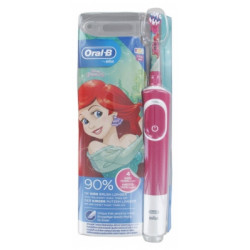 Oral-B Kids Brosse à Dents Electrique Rechargeable 3 Ans et + - Modèle : Princesse