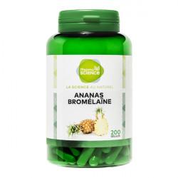 Pharmascience ananas bromelaine 200 gélules