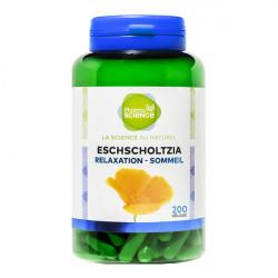 Pharmascience eschscholtzia relaxation-sommeil 200 gélules