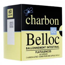 Charbon de Belloc 125mg 60 capsules