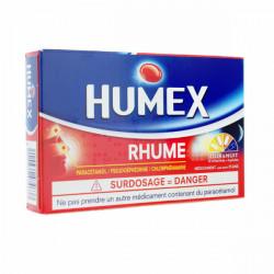 Humex Rhume jour et nuit 12 comprimés Jour + 4 gélules nuit