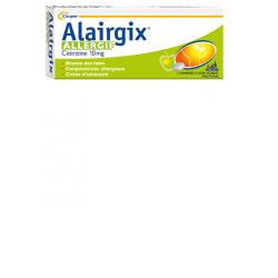 Alairgix allergie cetirizine 10mg 7 comprimés à sucer