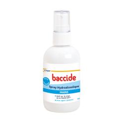 Cooper Baccide solution hydroalcoolique spray 100 ml