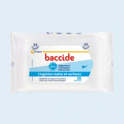 Baccide lingettes mains et surfaces x 35