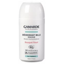 Gamarde Hygiène Douceur Déodorant Bille Douceur Bio 50 ml Bouquet Fleuri