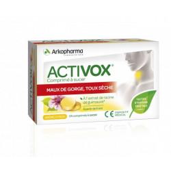 Activox® Comprimé à sucer Citron 24 Pastill:es