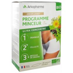 Arkofluide bio programme minceur 30x10ml ampoules