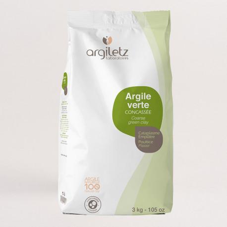 Argiletz Argile Verte poudre 3Kg