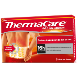 Cooper Thermacare Patch auto-chauffant Dos x2