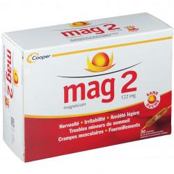 Cooper Mag 2 sans sucre 30 ampoules