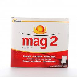 Cooper Mag 2 poudre pour solution buvable 30 sachets