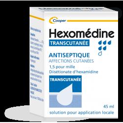 Hexomedine Transcutanée 1,5‰ 45ml
