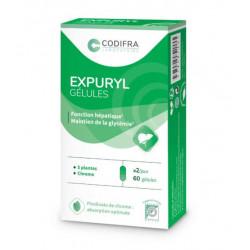 Codifra Expuryl phytodraineur et détoxiquant général 60 gélules