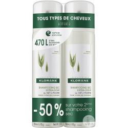 Klorane Shampoing sec Avoine 2 sprays 150ml