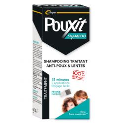 Pouxit shampoing traitant anti-poux & lentes + peigne 200ml
