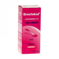 BRONCHOKOD 2 % solution buvable enfant 125ml